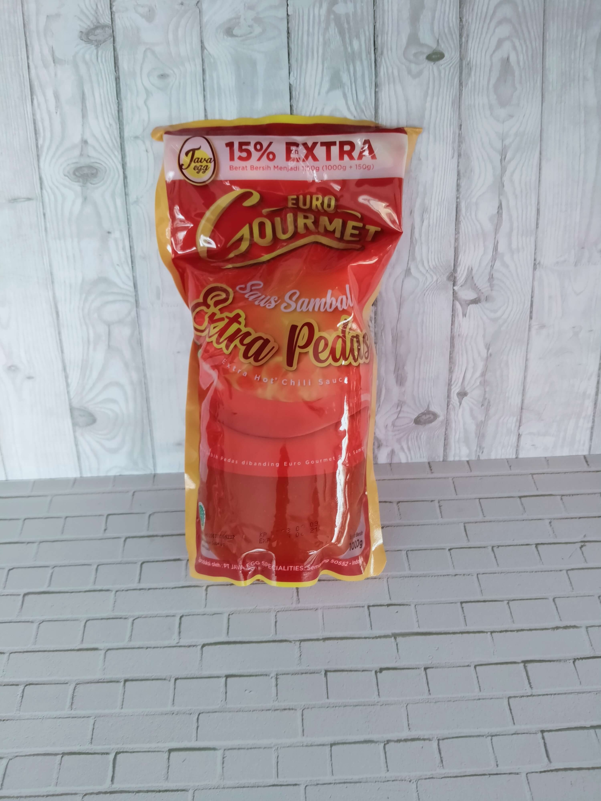 Saus Extra Hot Euro Gourmet 1 Kg