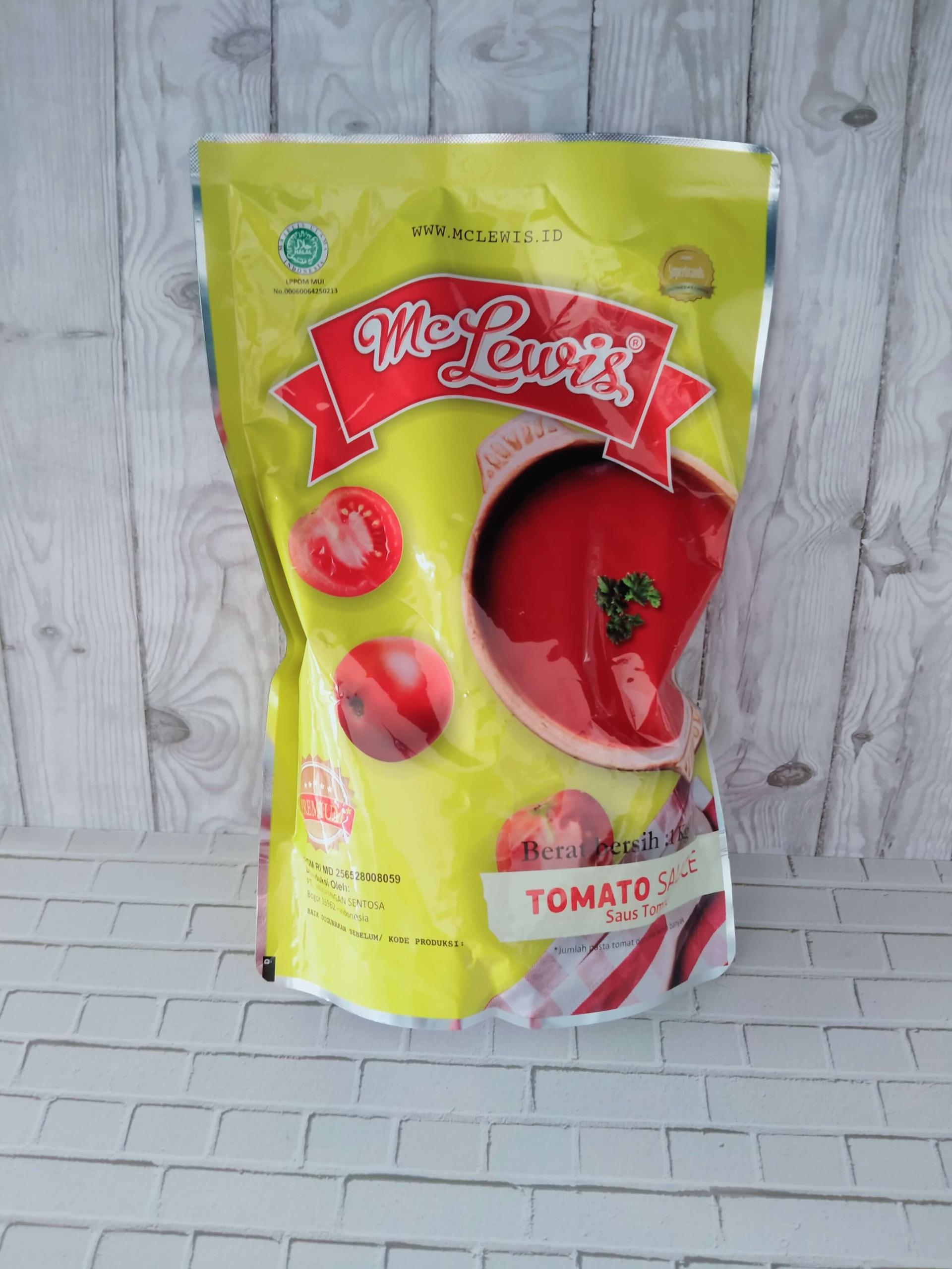 Saus Tomat Premium Mclewis 1 Kg