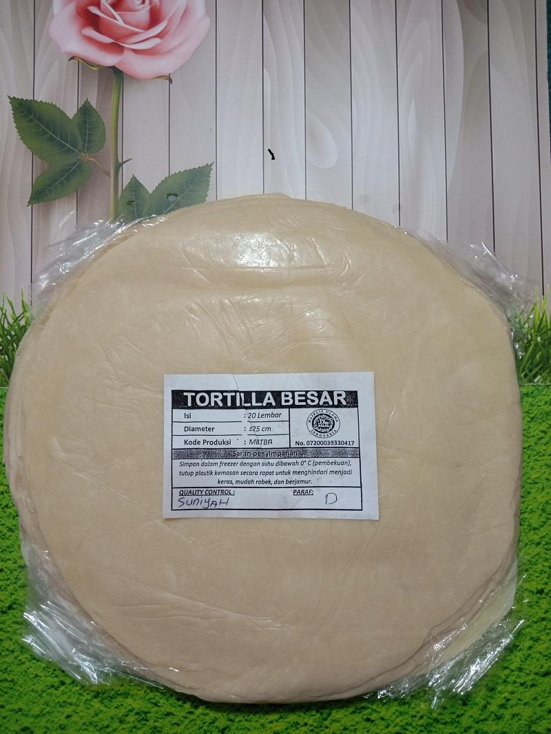Tortilla Kebab / Kulit Kebab Uk 25 Cm Original